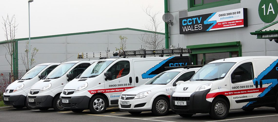 CCTV Wales vehicles
