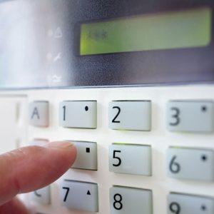 home security key pad